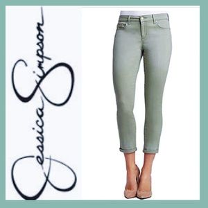 🎈SALE🎈Jessica Simpson Rolled Crop Skinny